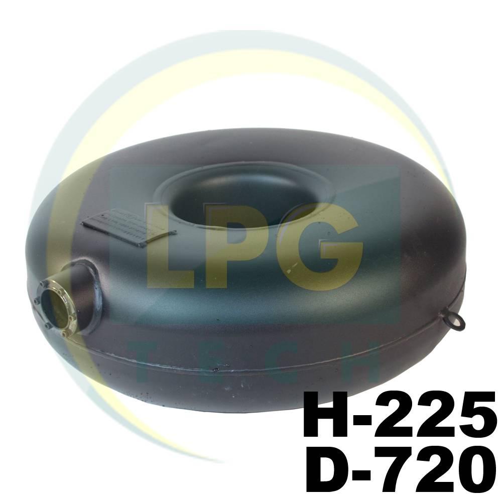 Баллон пропан тороидальный Atiker 72 литра 225х720 мм наружный