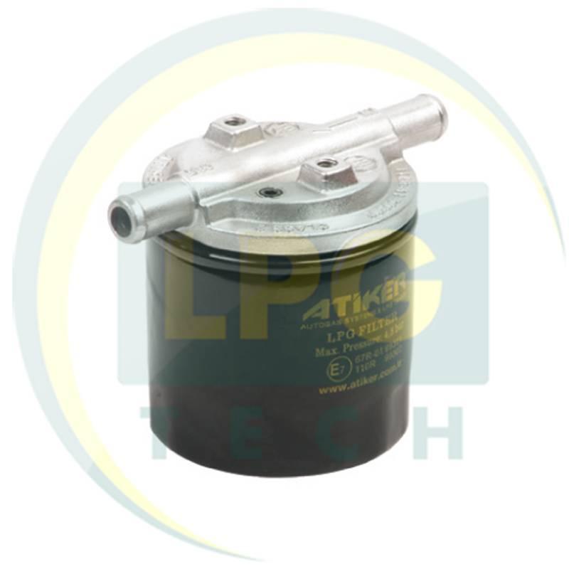 Фильтр тонкой очистки Atiker с отстойником 1 вход – 1 выход D12 мм