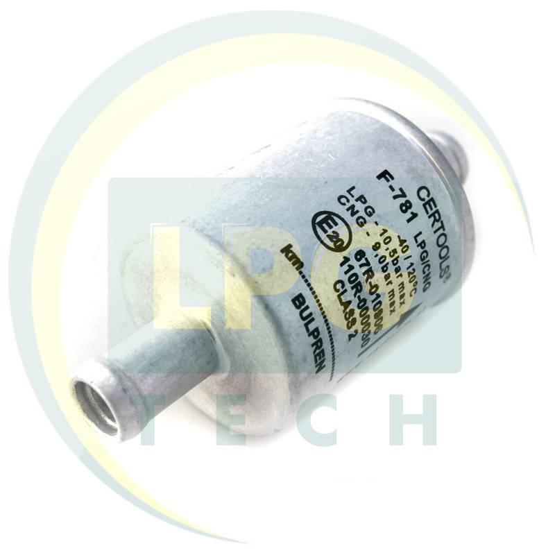Фильтр Certools F781 тонкой очистки 1 вход – 1 выход D11 мм (Булпрен)